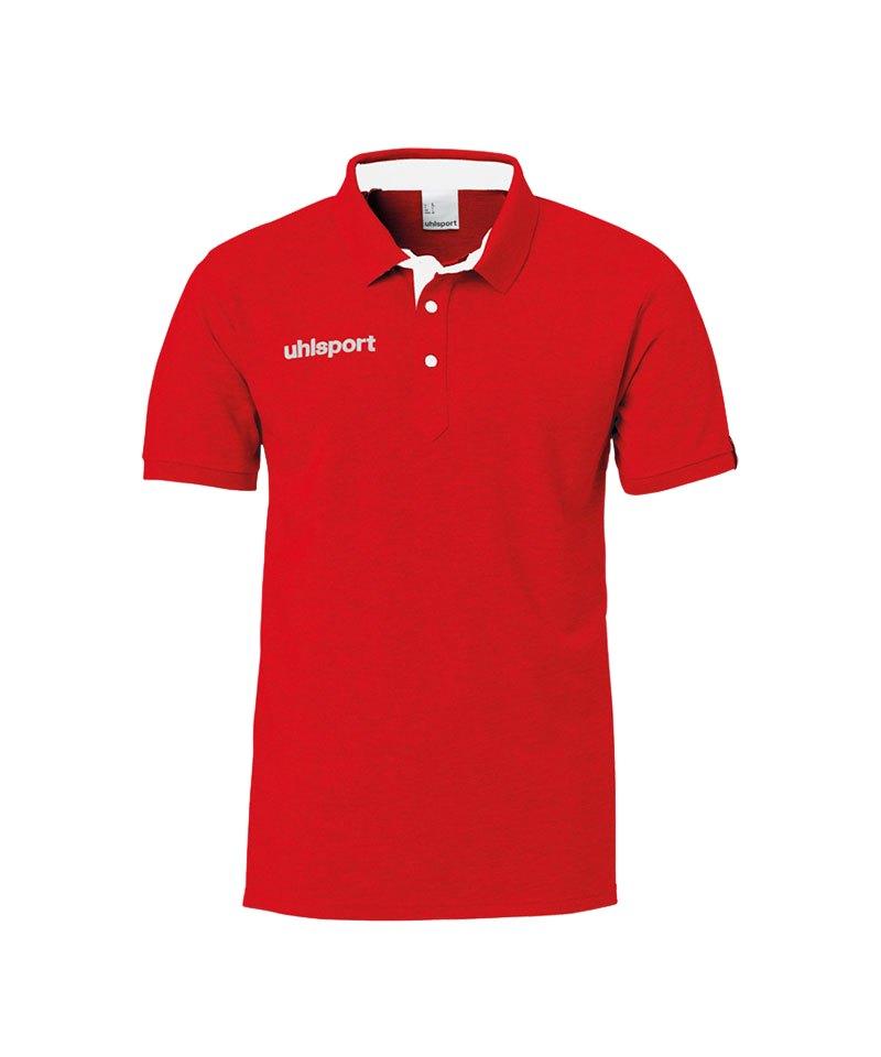 Uhlsport Essential Prime Poloshirt Rot F06 - rot