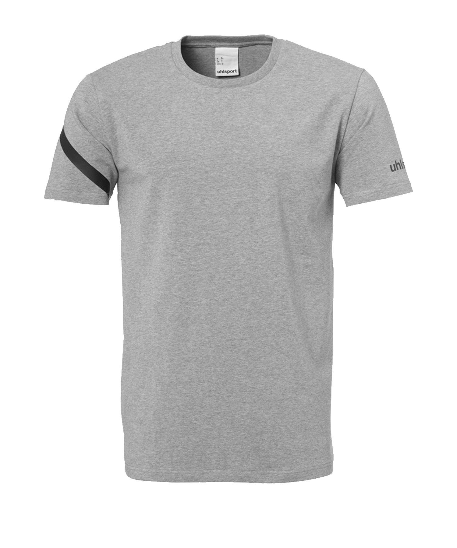Uhlsport Essential Pro T-Shirt Grau F15 - Schwarz