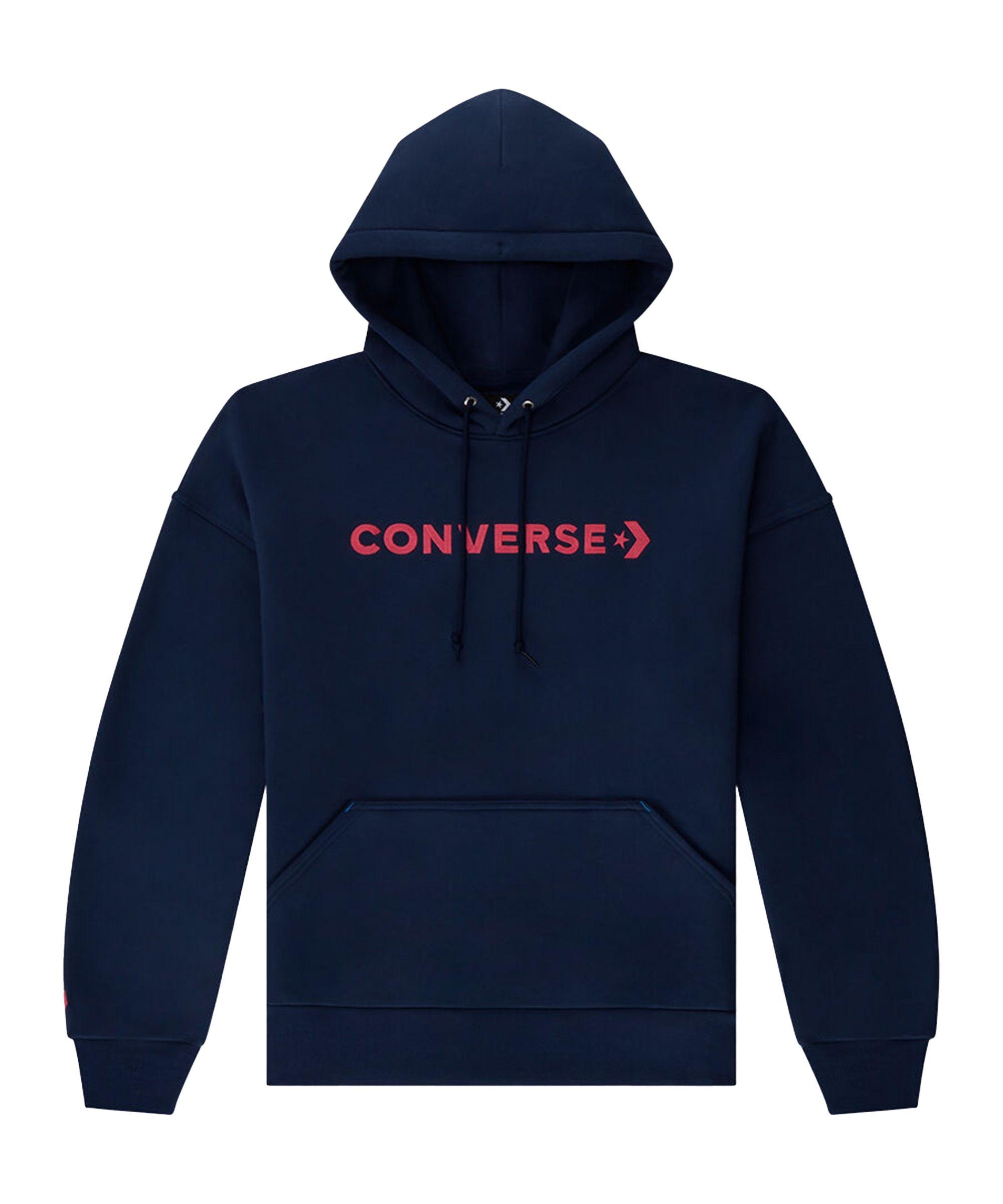 Converse Embroidered Wordmark Hoody Damen F471 - blau