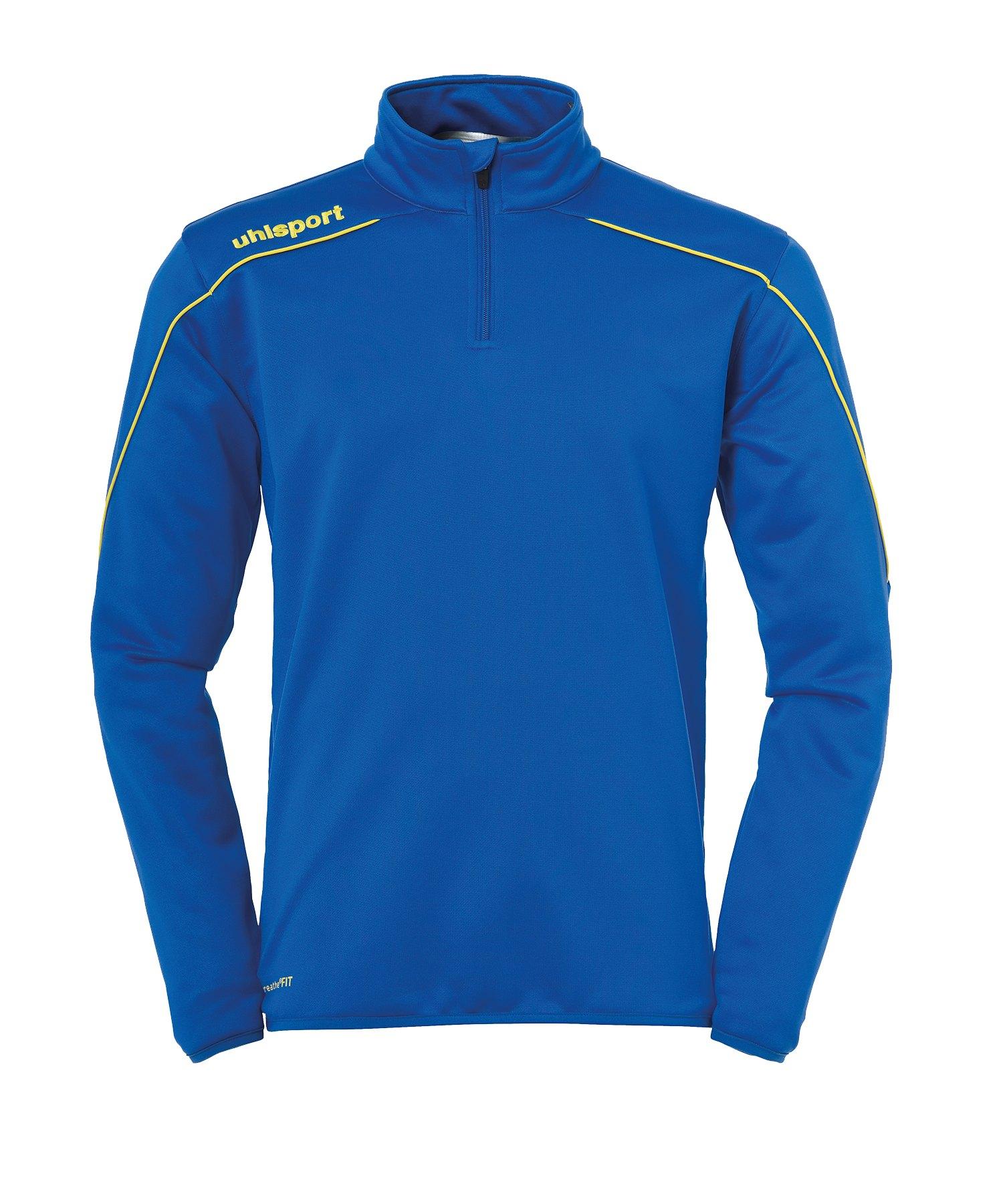 Uhlsport Stream 22 Ziptop Blau Gelb F14 - Blau
