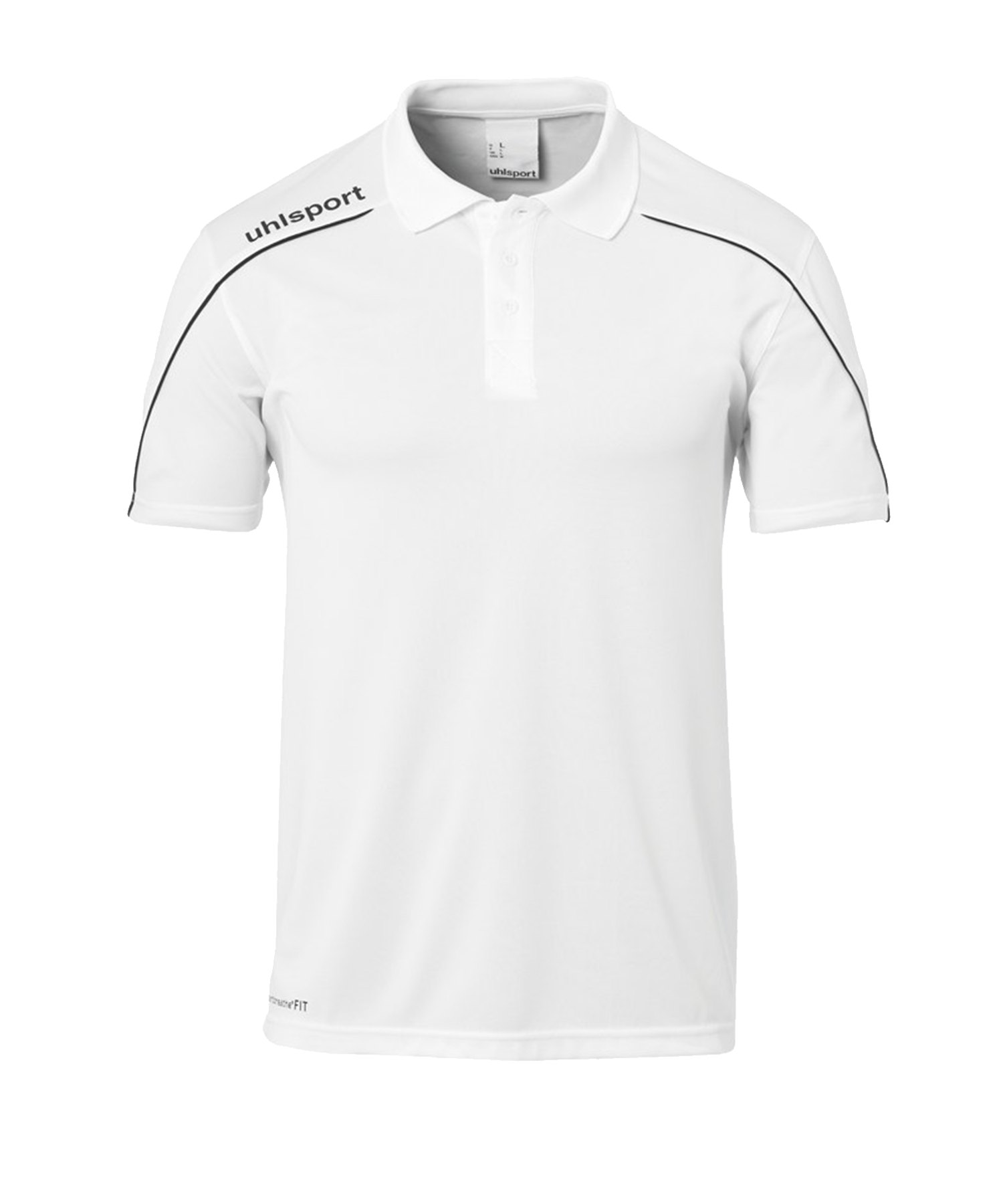 Uhlsport Stream 22 Poloshirt Kids Weiss F02 - Weiss