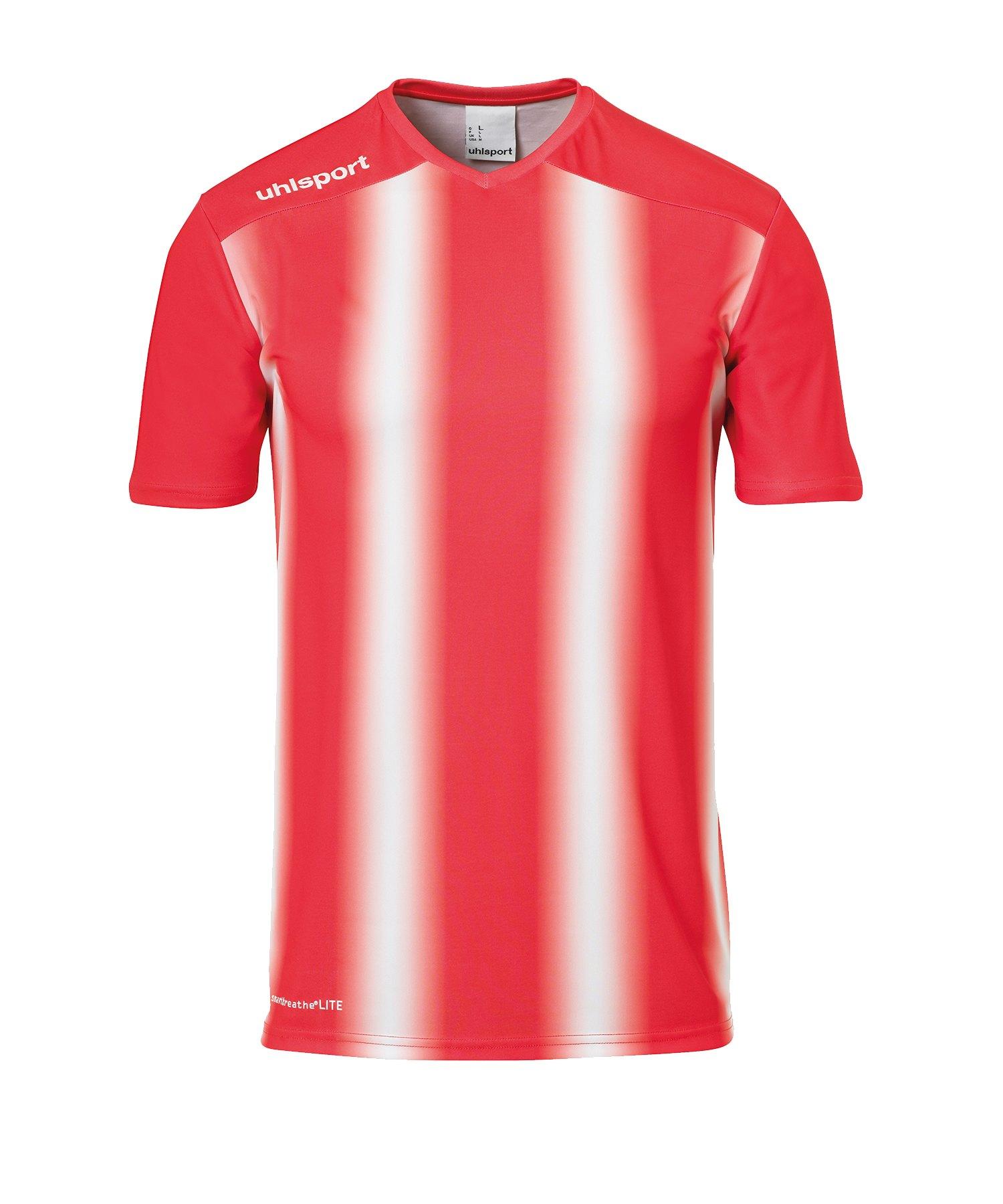 Uhlsport Stripe 2.0 Trikot kurzarm Rot Weiss F03 - Rot