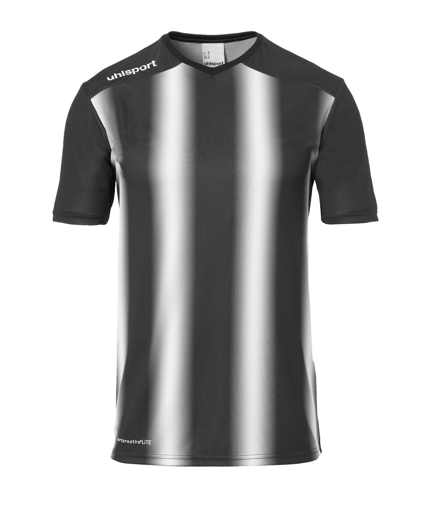 Uhlsport Stripe 2.0 Trikot kurzarm Schwarz F01 - Schwarz