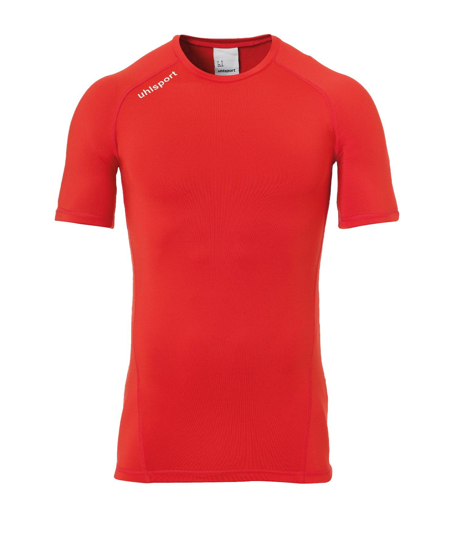 Uhlsport Pro Baselayer kurzarm Rot F04 - Rot