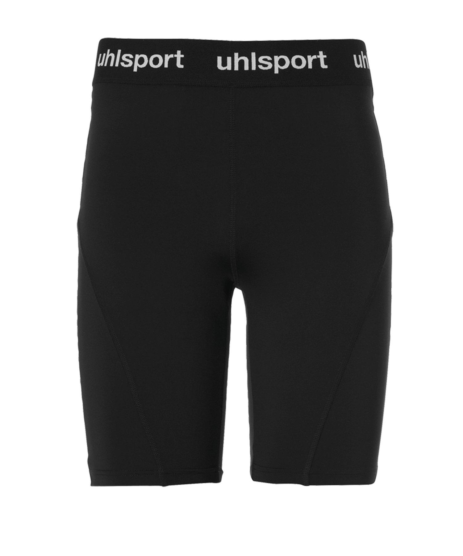 Uhlsport Tight Short Hose kurz Schwarz F01 - schwarz