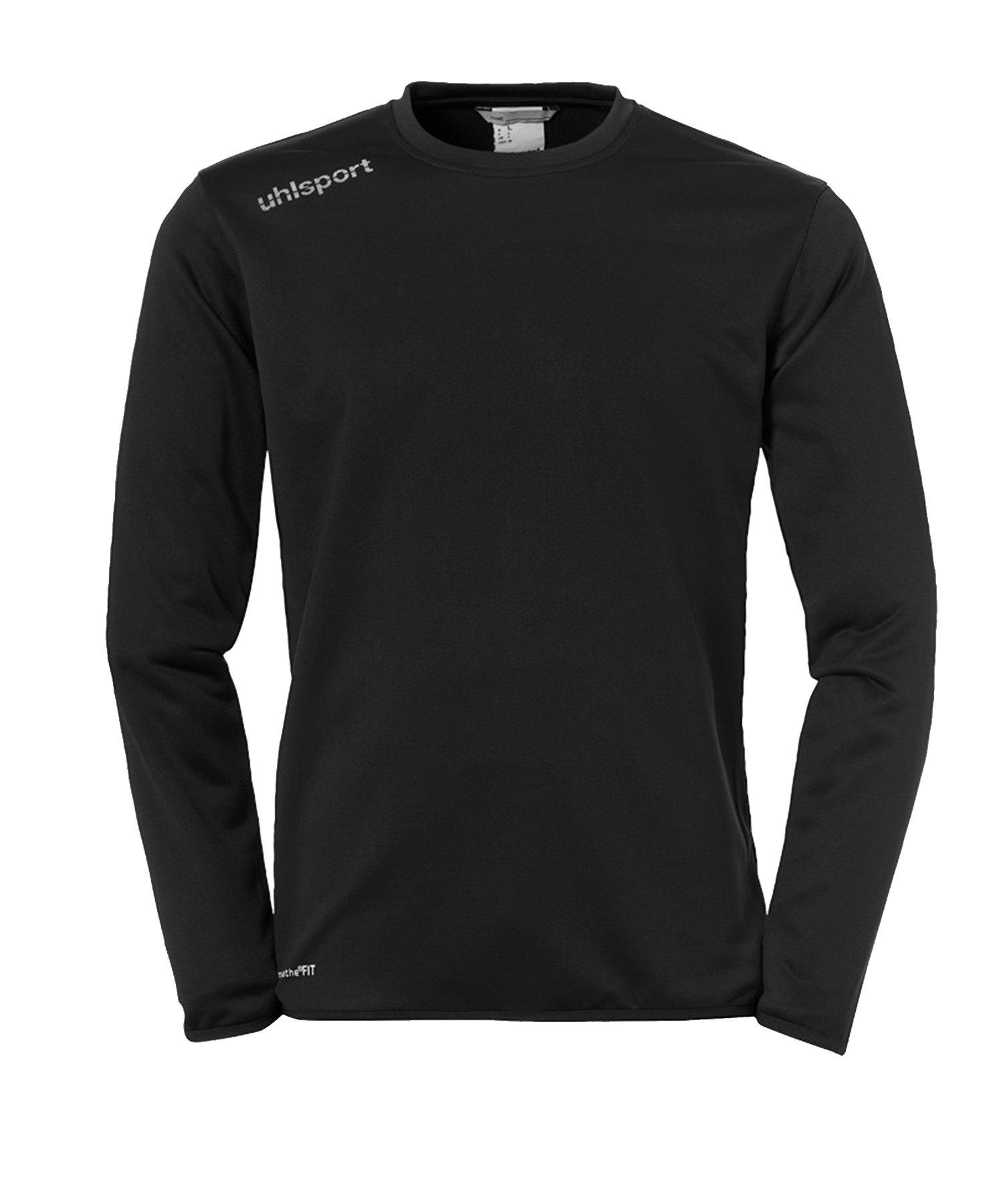 Uhlsport Essential Trainingstop langarm F01 - Schwarz