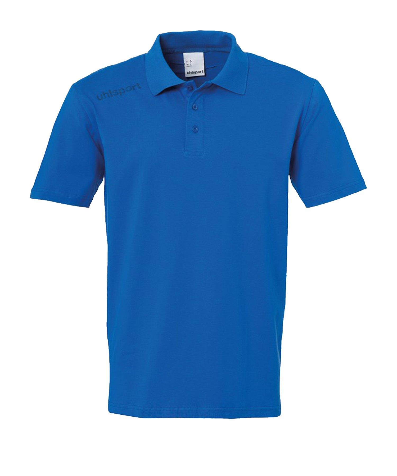 Uhlsport Essential Poloshirt Kids Blau F03 - Blau