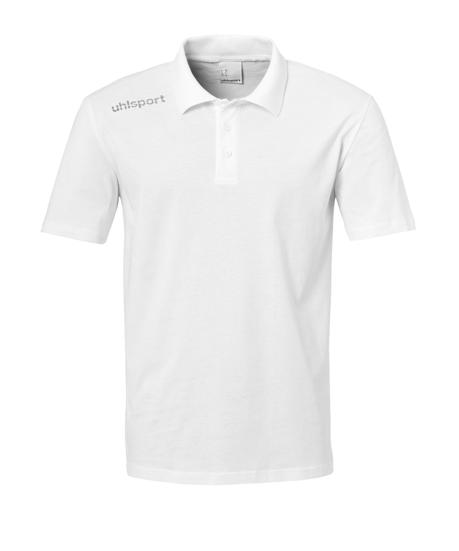 Uhlsport Essential Poloshirt Kids Weiss F02 - Weiss
