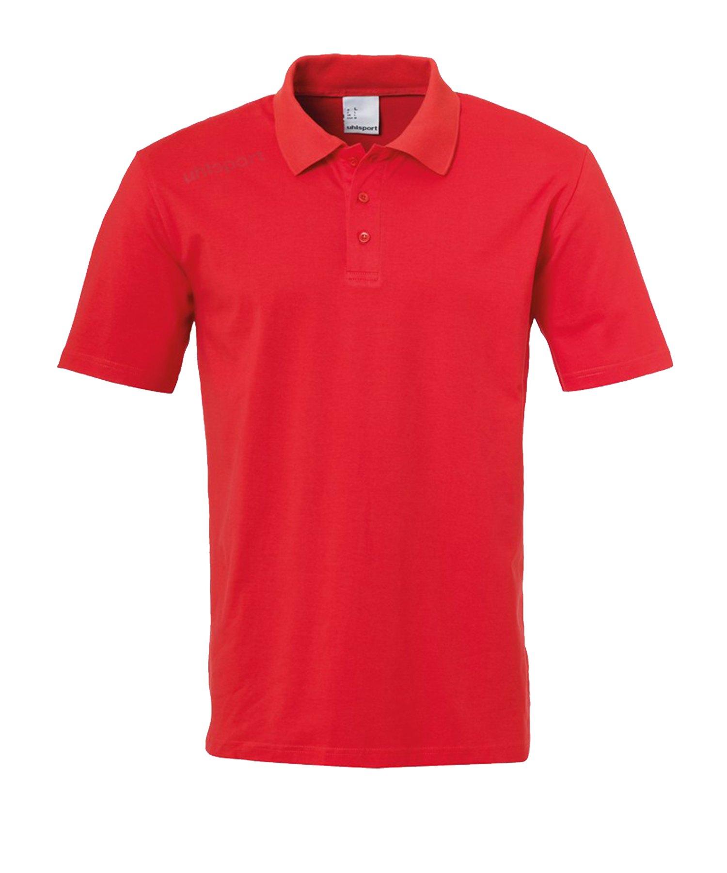Uhlsport Essential Poloshirt Rot F04 - Rot