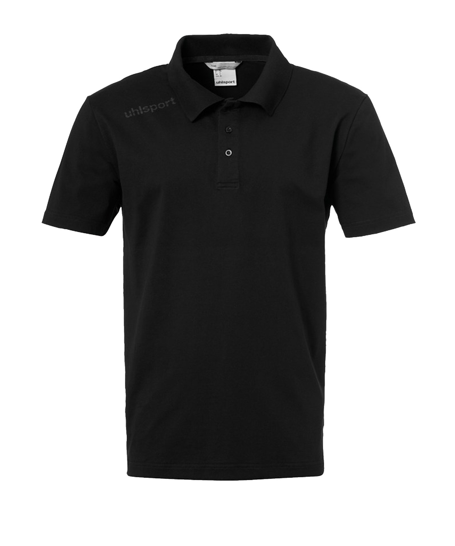 Uhlsport Essential Poloshirt Schwarz F01 - Schwarz