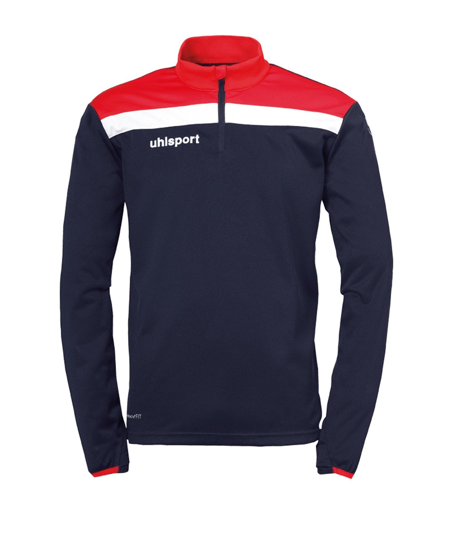 Uhlsport Offense 23 Ziptop Blau Rot F10 - blau