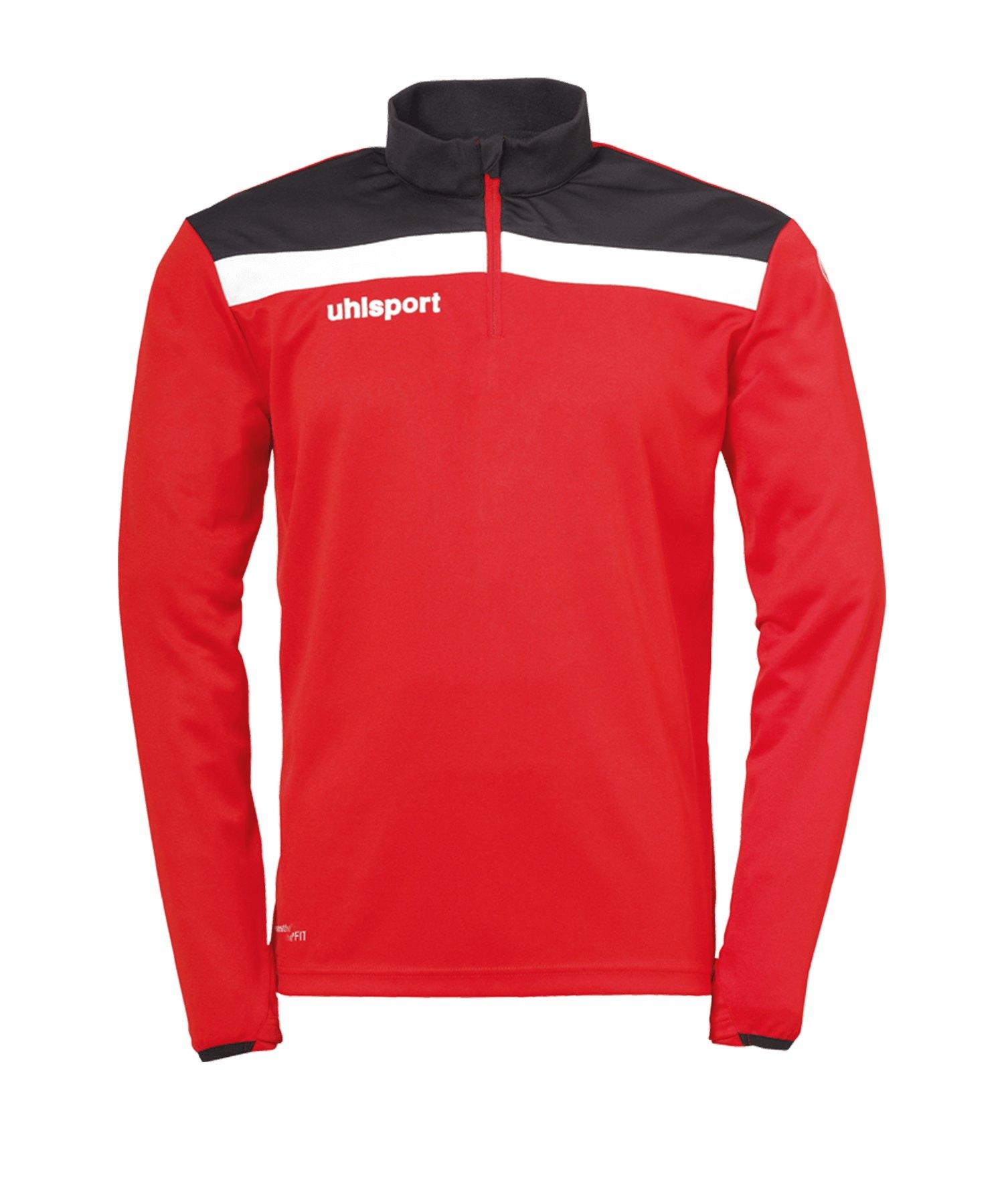 Uhlsport Offense 23 Ziptop Rot Schwarz F04 - rot