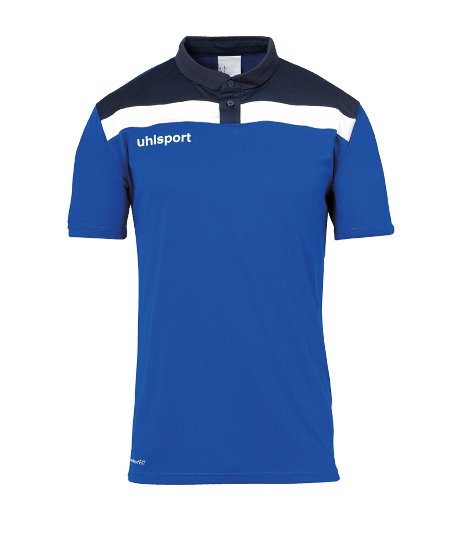 Uhlsport Offense 23 Poloshirt Blau F03 - blau