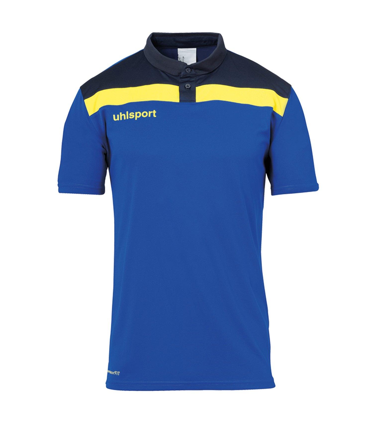 Uhlsport Offense 23 Poloshirt Blau F14 - blau