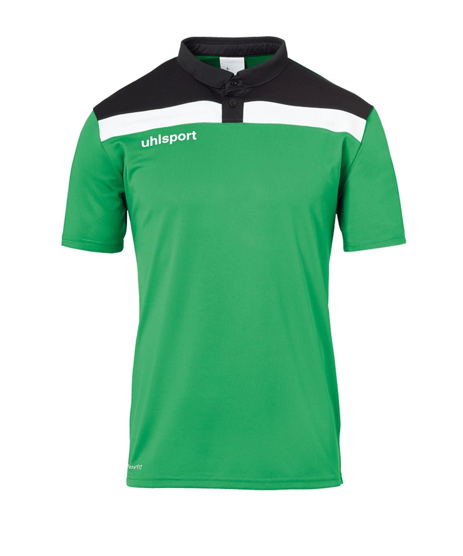 Uhlsport Offense 23 Poloshirt Kids Grün F06 - gruen