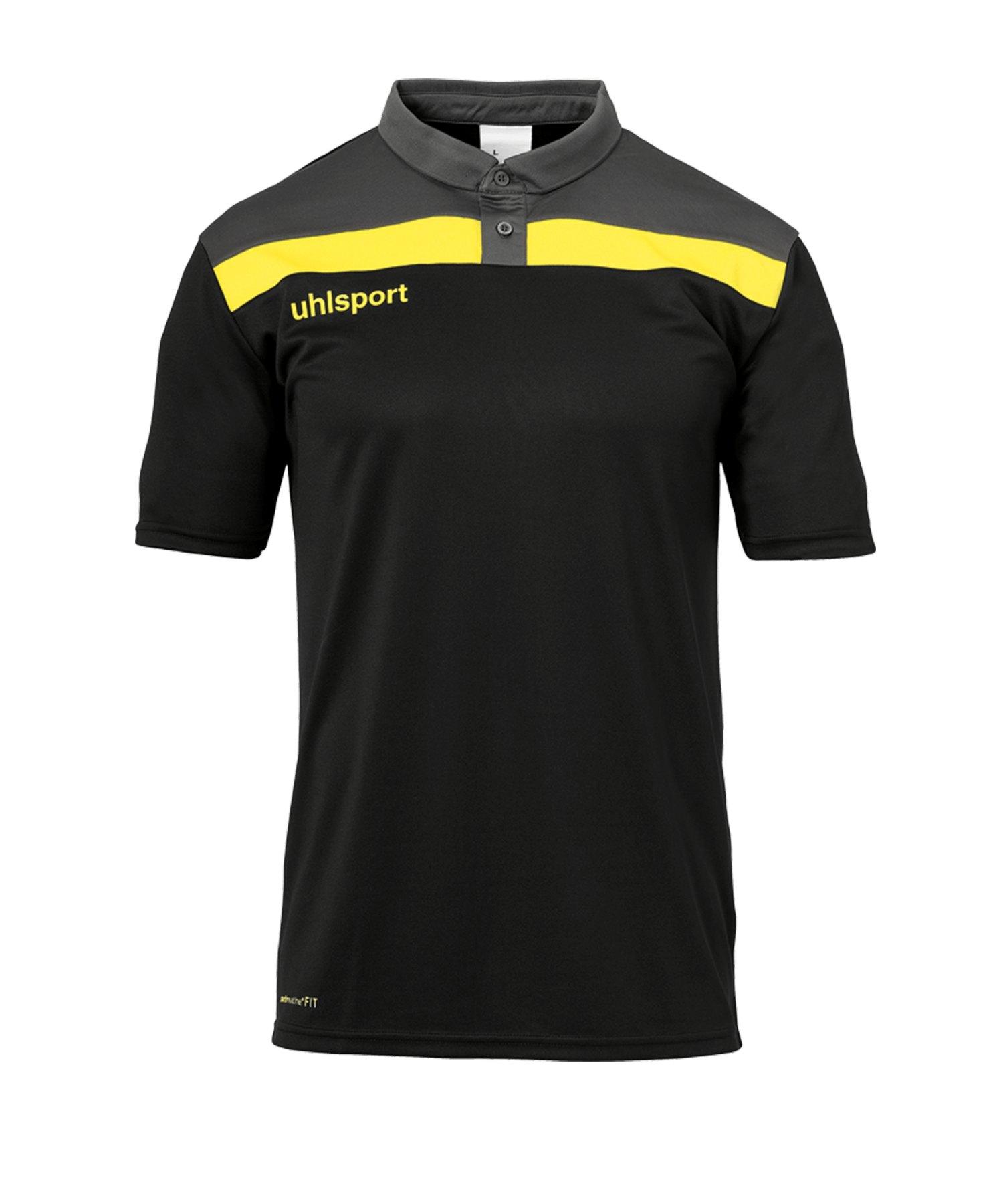 Uhlsport Offense 23 Poloshirt Kids Schwarz F23 - schwarz