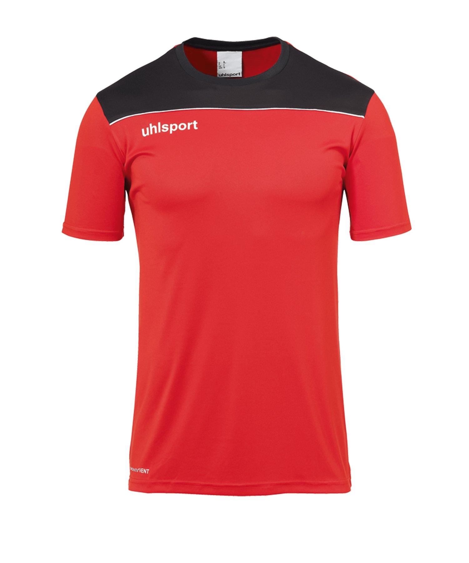 Uhlsport Offense 23 Trainingsshirt Rot Schwarz F04 - rot