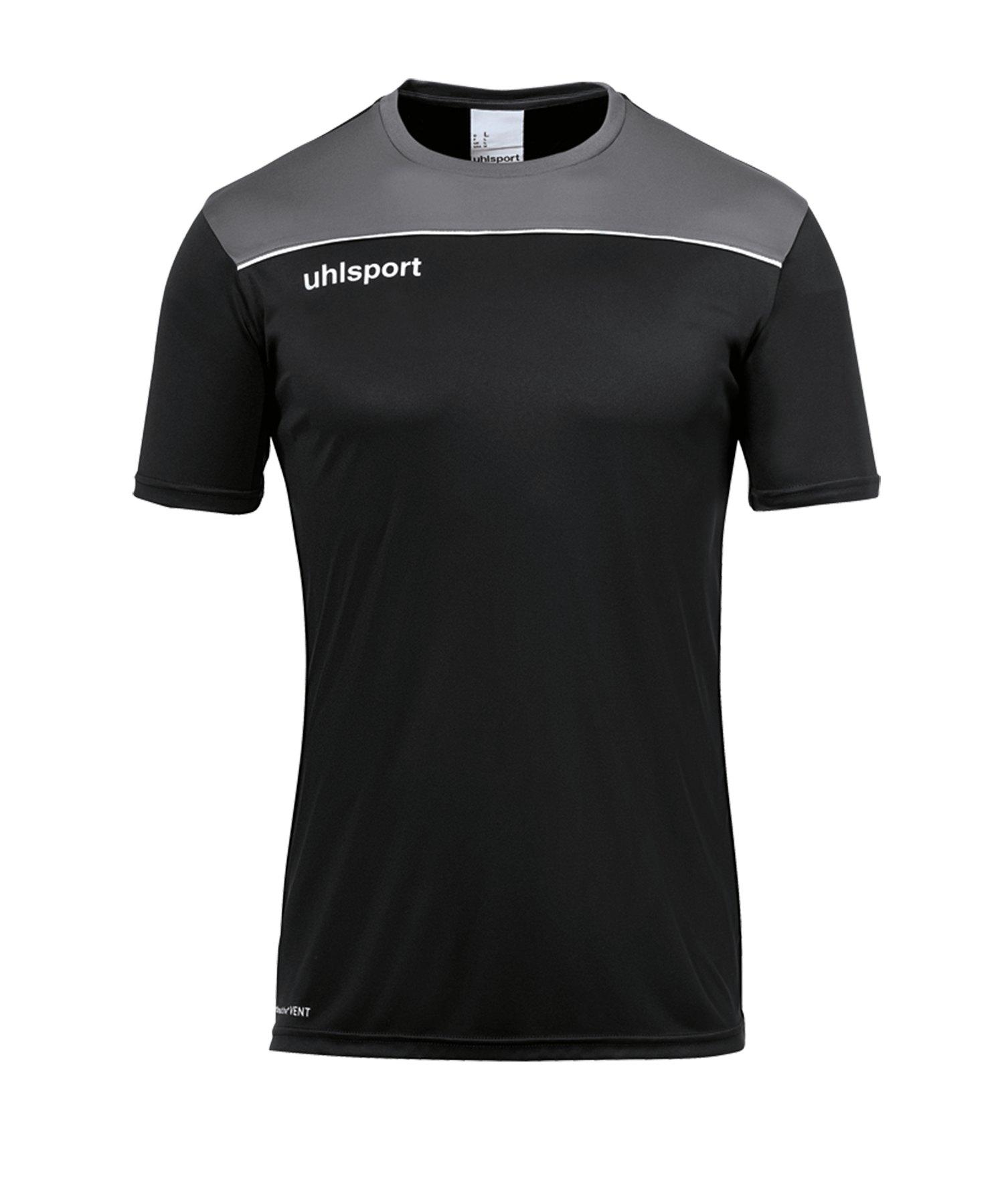 Uhlsport Offense 23 Trainingsshirt Schwarz F01 - schwarz