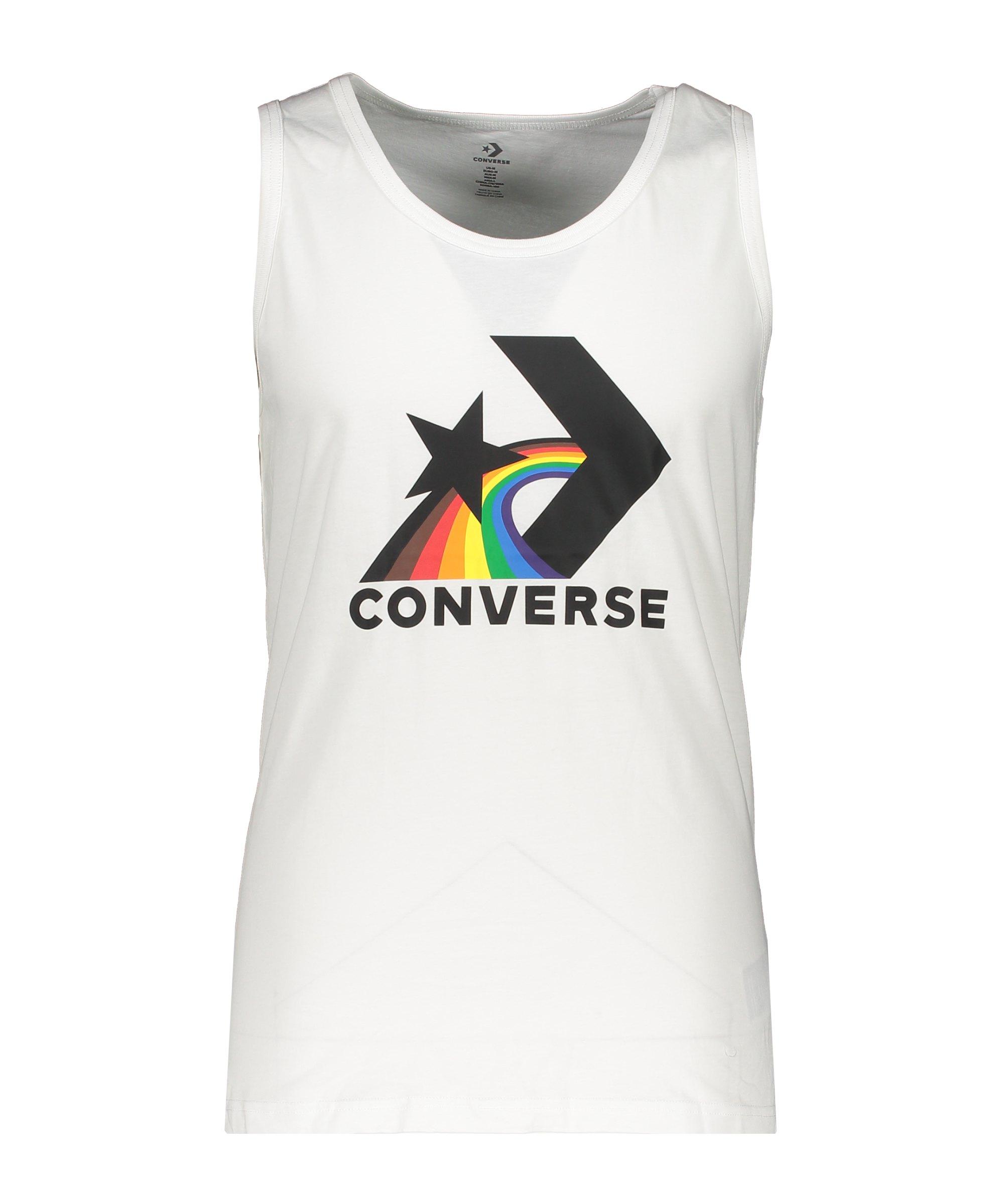 Converse Pride Tank T-Shirt Weiss F102 - weiss