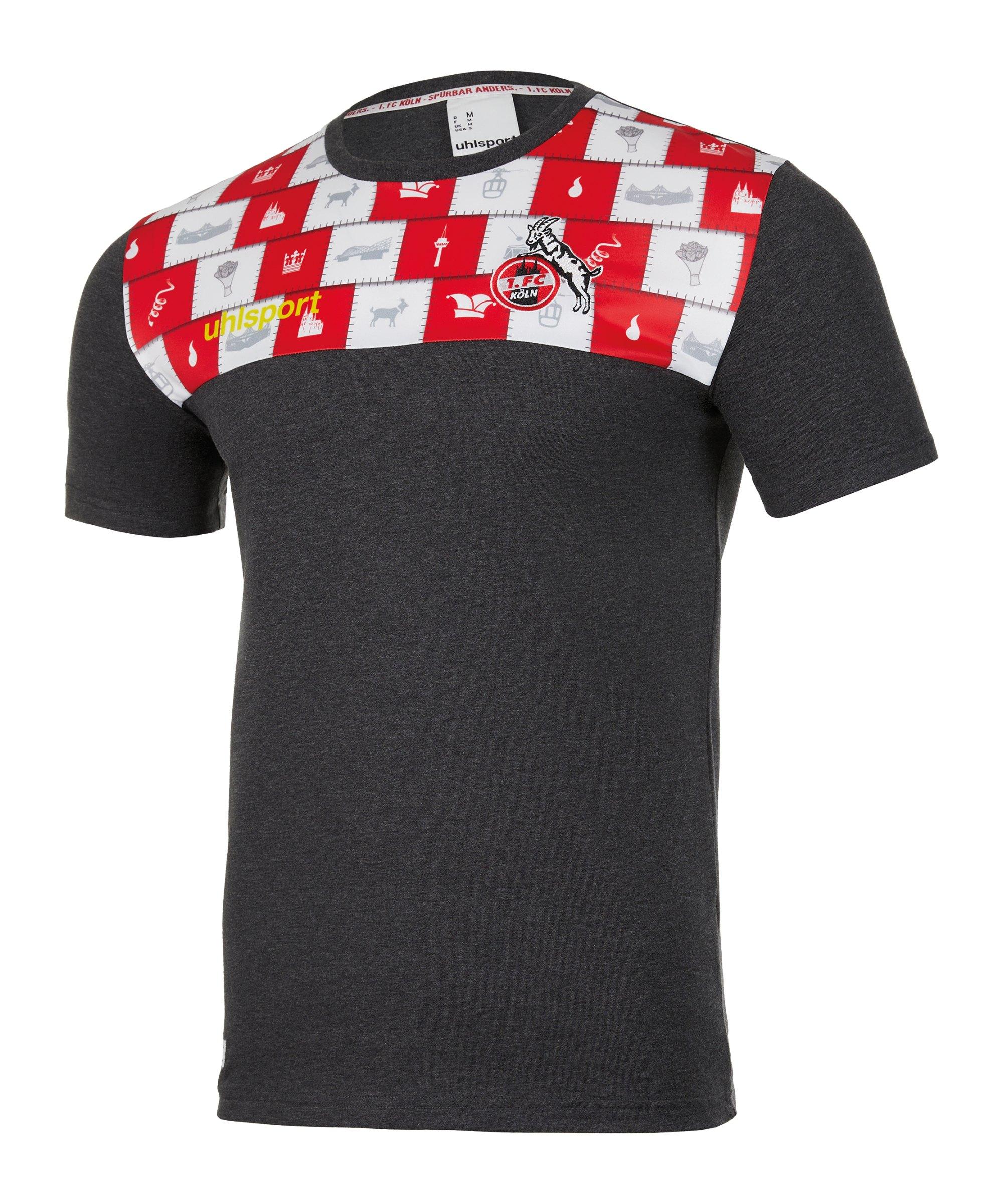 Uhlsport 1. FC Köln Karneval T-Shirt - schwarz