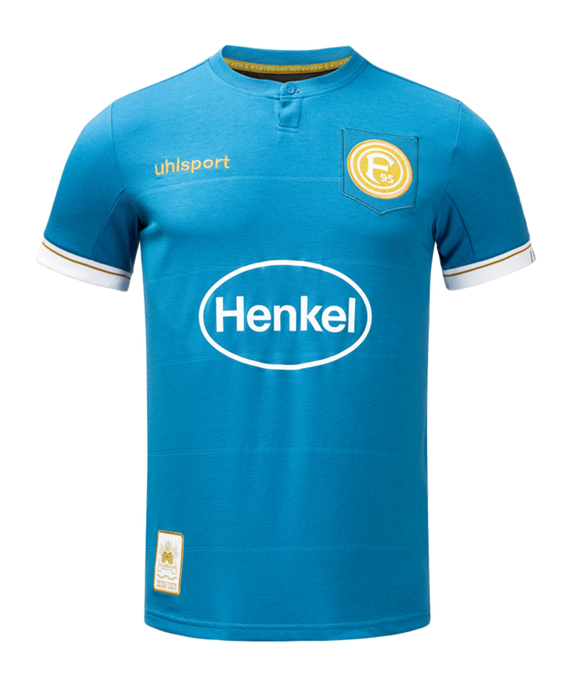 Uhlsport Fortuna Düsseldorf Sondertrikot 2020/2021 - blau
