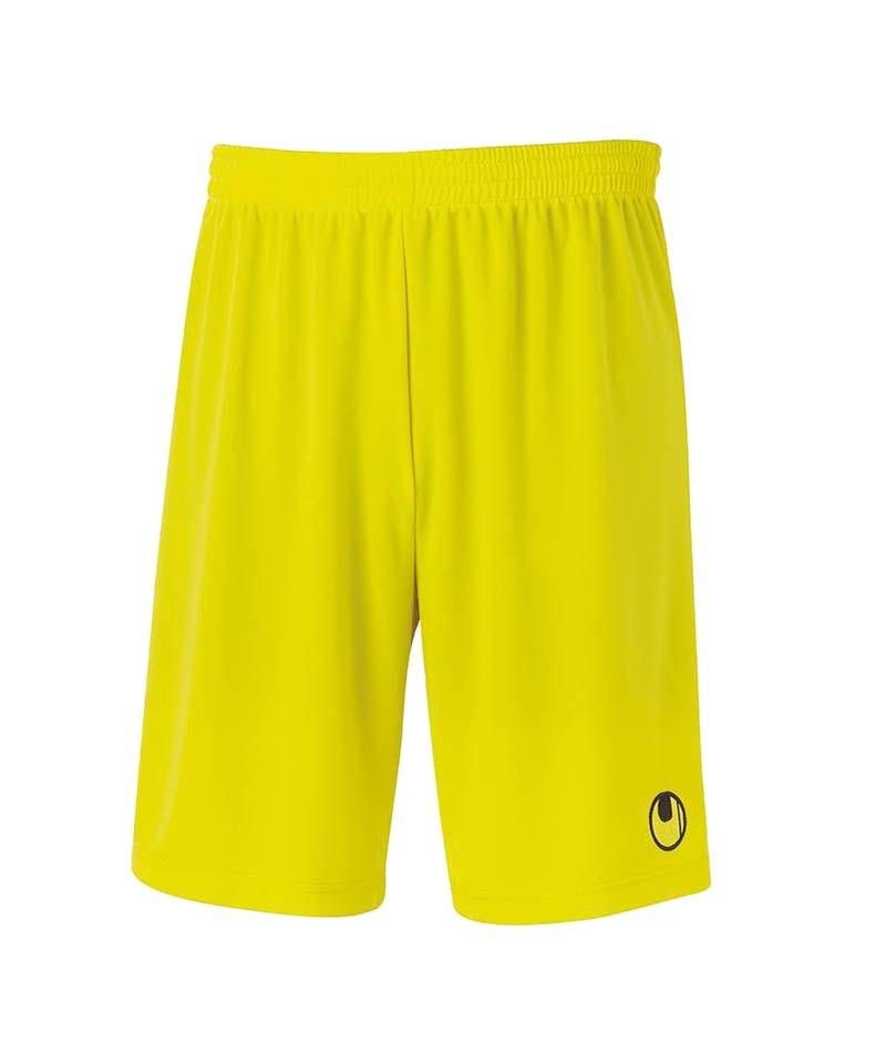 Uhlsport Short Center Basic II Kinder Gelb F20 - gelb