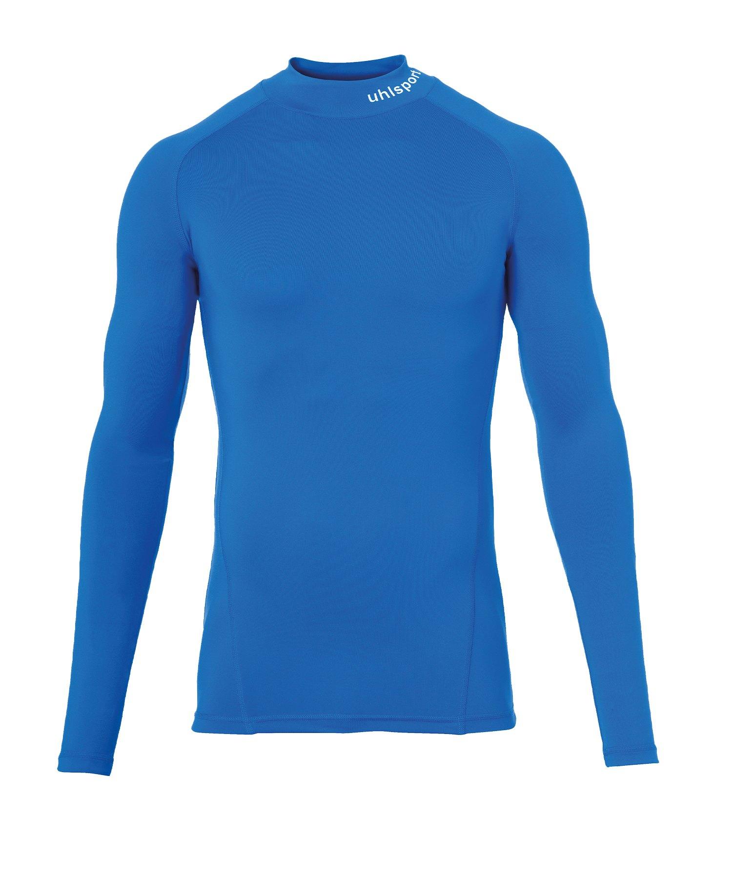 Uhlsport Pro Baselayer Turtleneck Kids Blau F03 - Blau