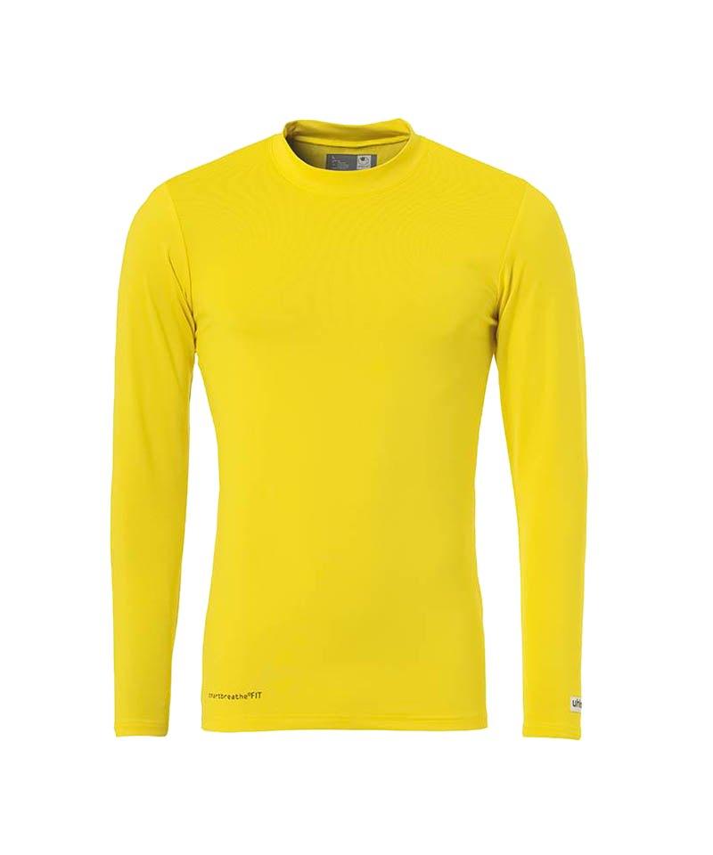 Uhlsport Unterhemd Baselayer langarm F16 - gelb