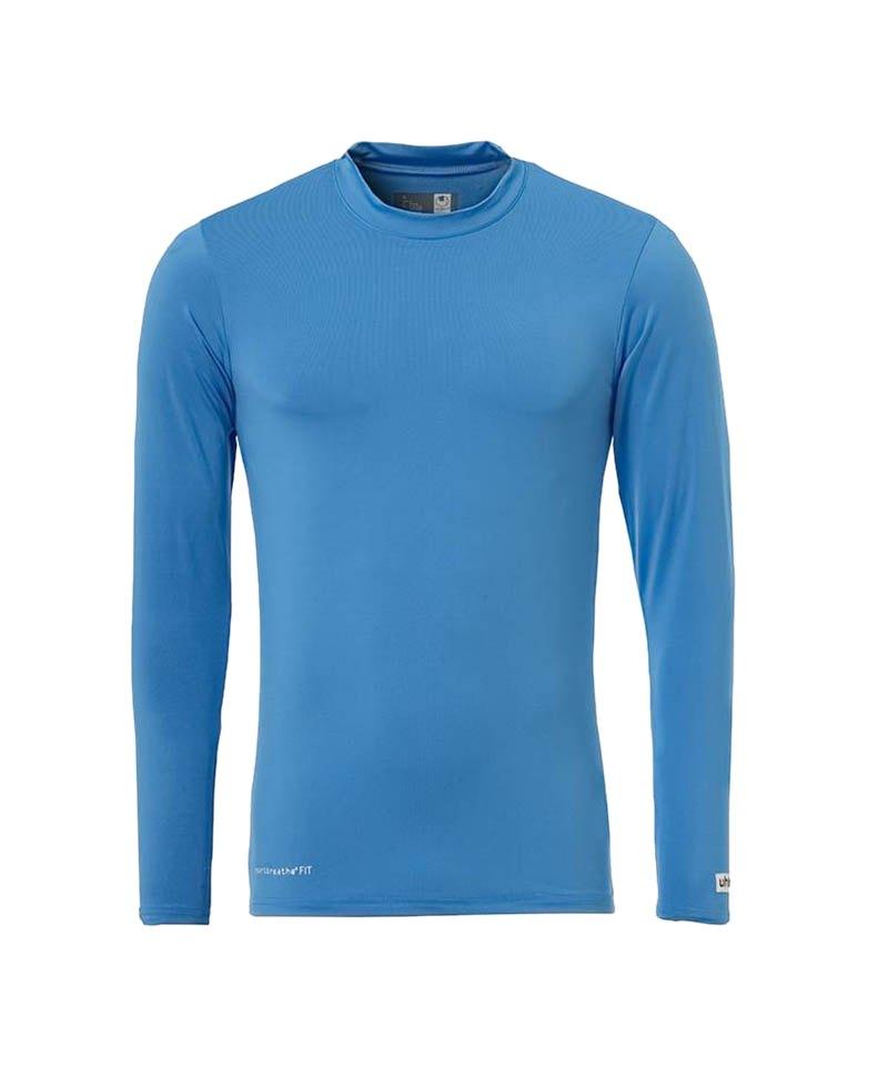 Uhlsport Unterhemd Baselayer langarm Kinder F10 - blau