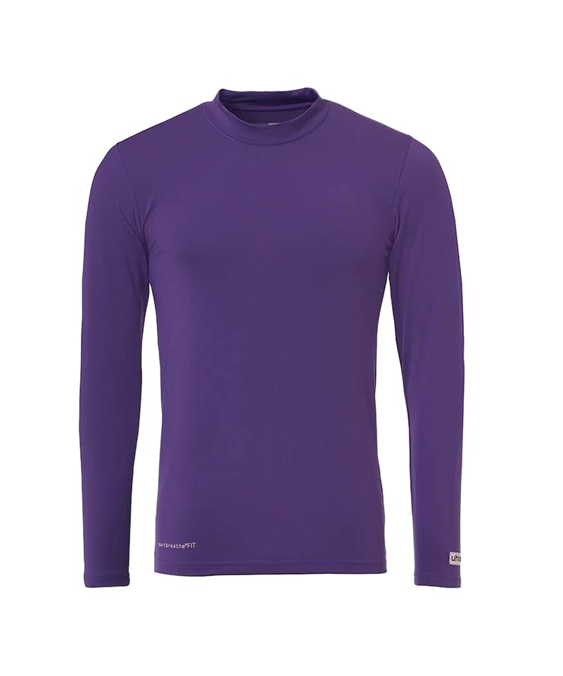 Uhlsport Unterhemd Baselayer langarm Kinder F12 - lila