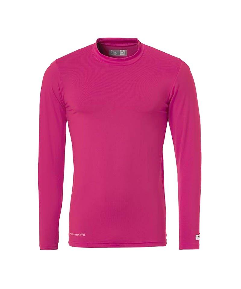 Uhlsport Unterhemd Baselayer langarm Kinder F13 - pink
