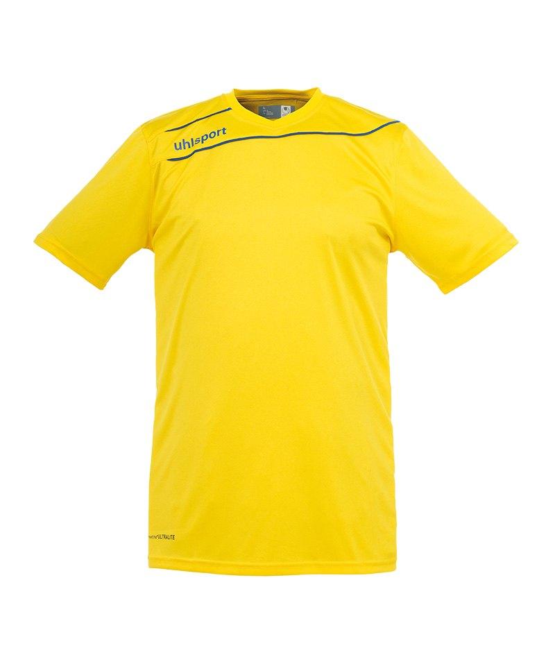Uhlsport Stream 3.0 Trikot kurzarm Gelb Blau F12 - gelb