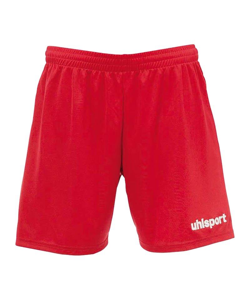 Uhlsport Short Center Basic Damen Rot F01 - rot