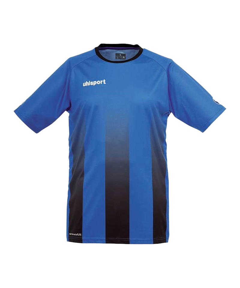 Uhlsport Trikot Stripe kurzarm Blau Schwarz F03 - blau