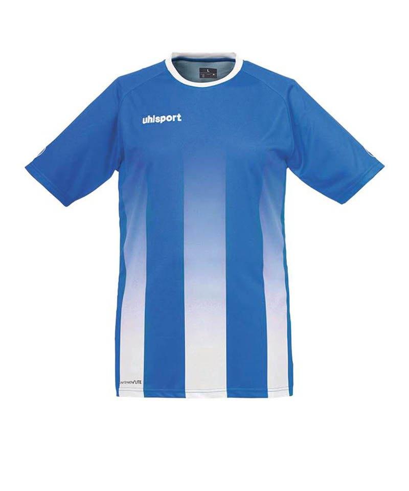 Uhlsport Trikot Stripe kurzarm Kinder Blau Weiss F04 - blau