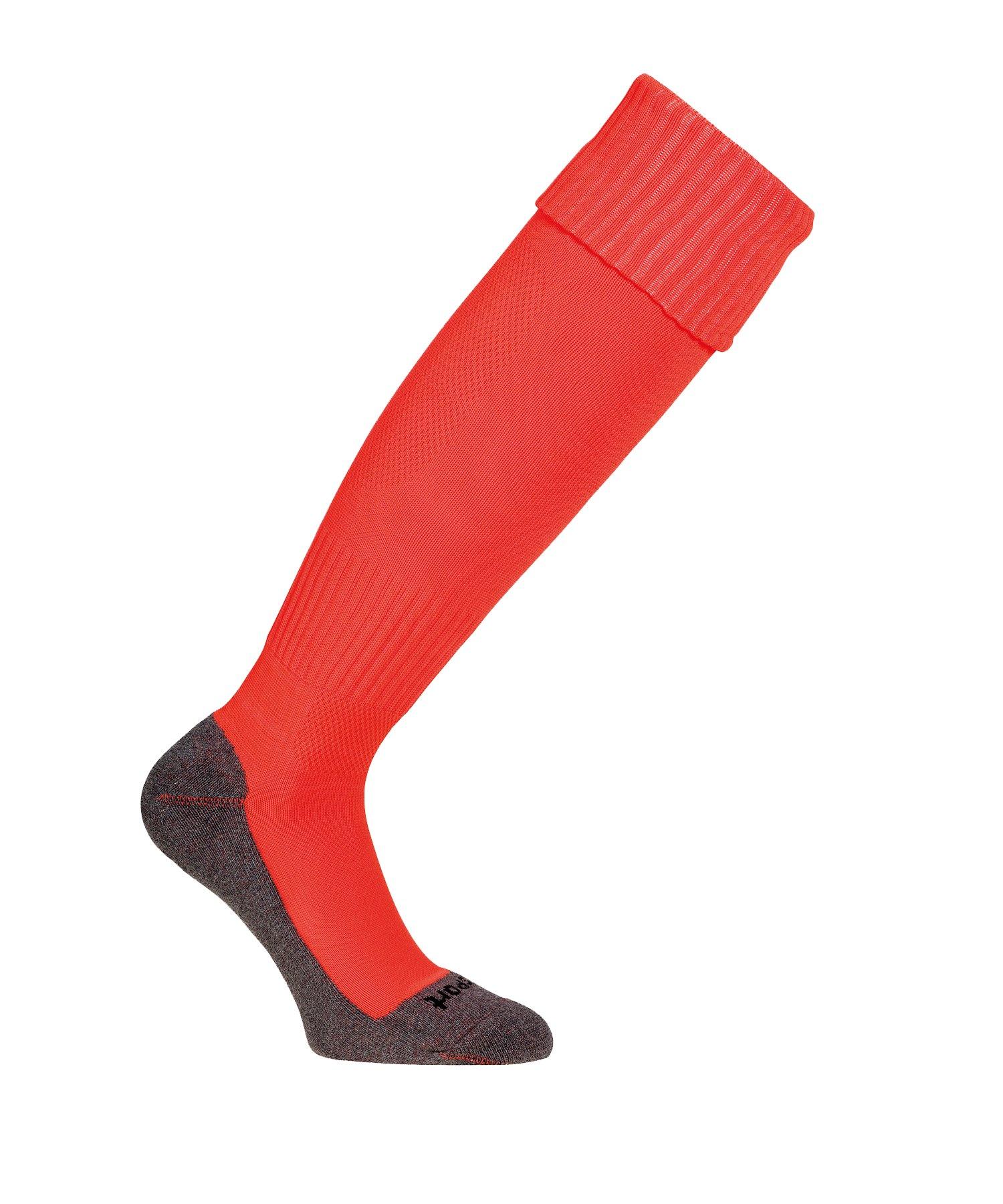 Uhlsport Team Pro Essential Stutzenstrumpf Rot F23 - Rot