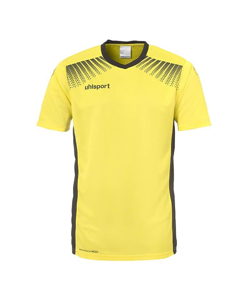 Uhlsport Trikot Goal kurzarm Kinder Gelb Schwarz F07 - gelb