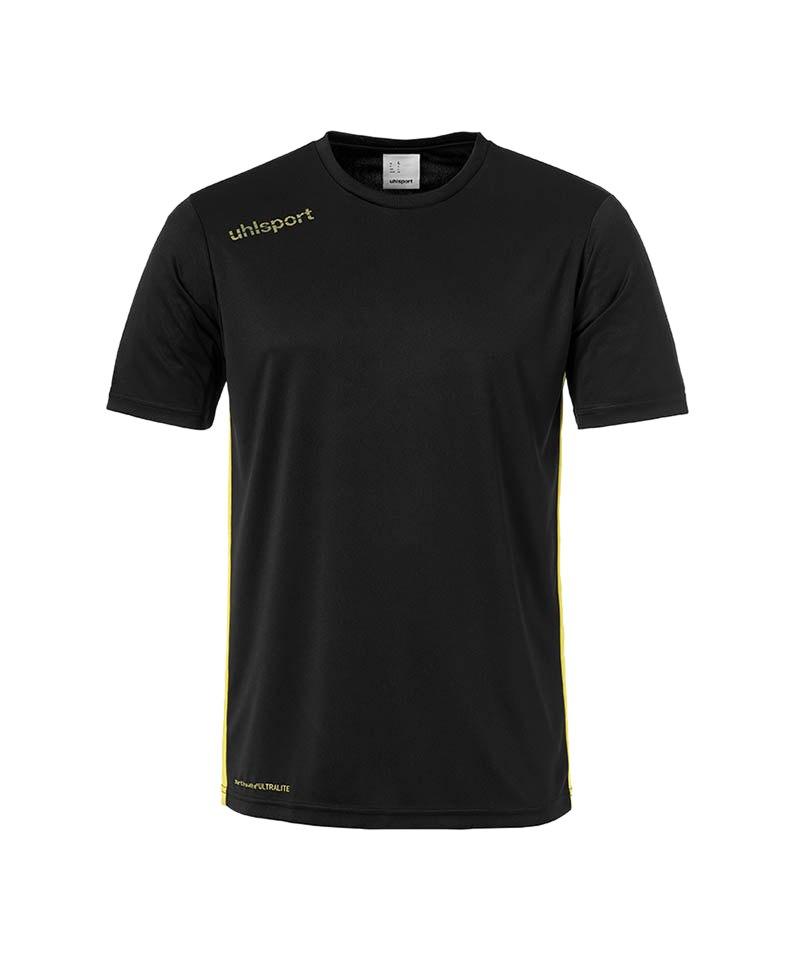 Uhlsport Trikot Essential kurzarm Schwarz Gelb F02 - schwarz
