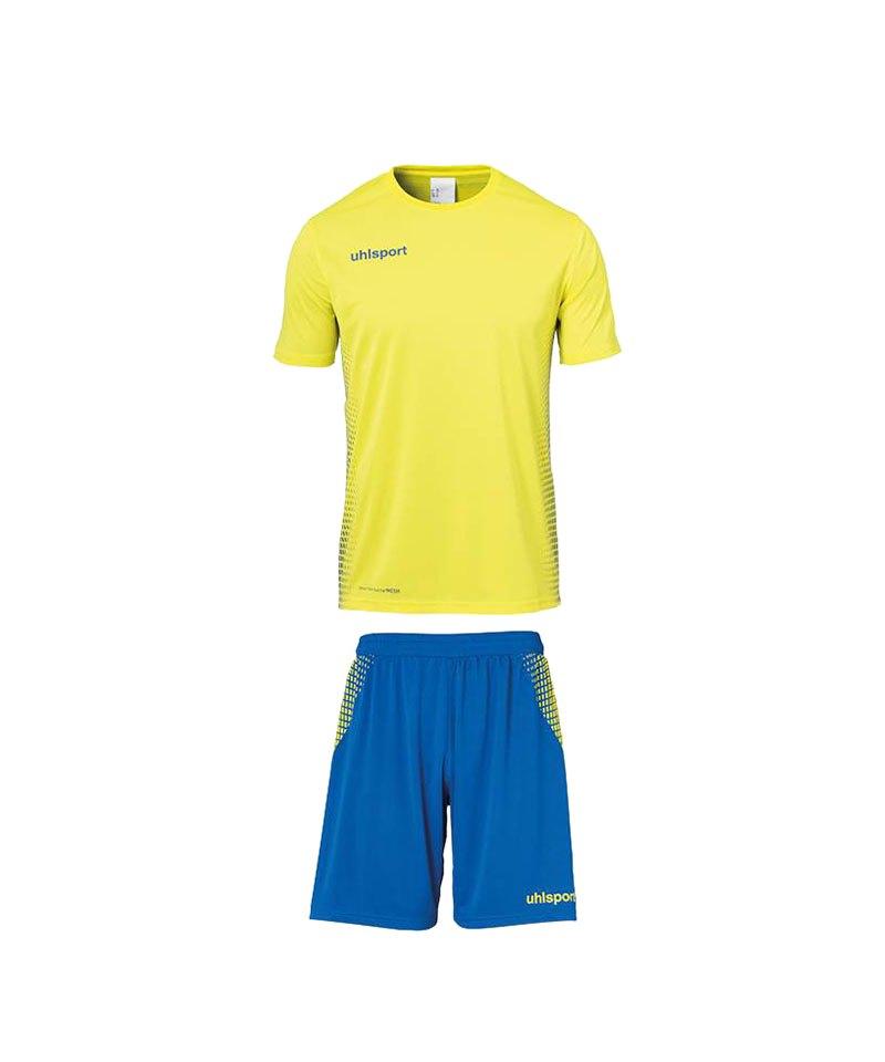 Uhlsport Score Trikotset kurzarm Gelb Blau F11 - gelb