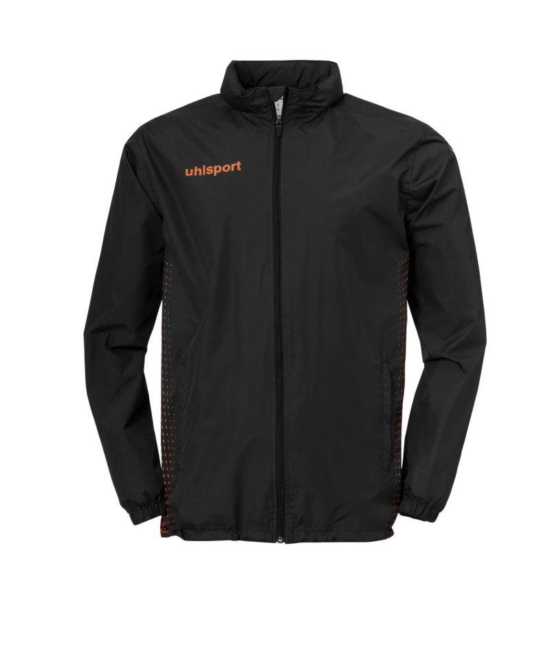 Uhlsport Score Regenjacke Schwarz Orange F09 - schwarz