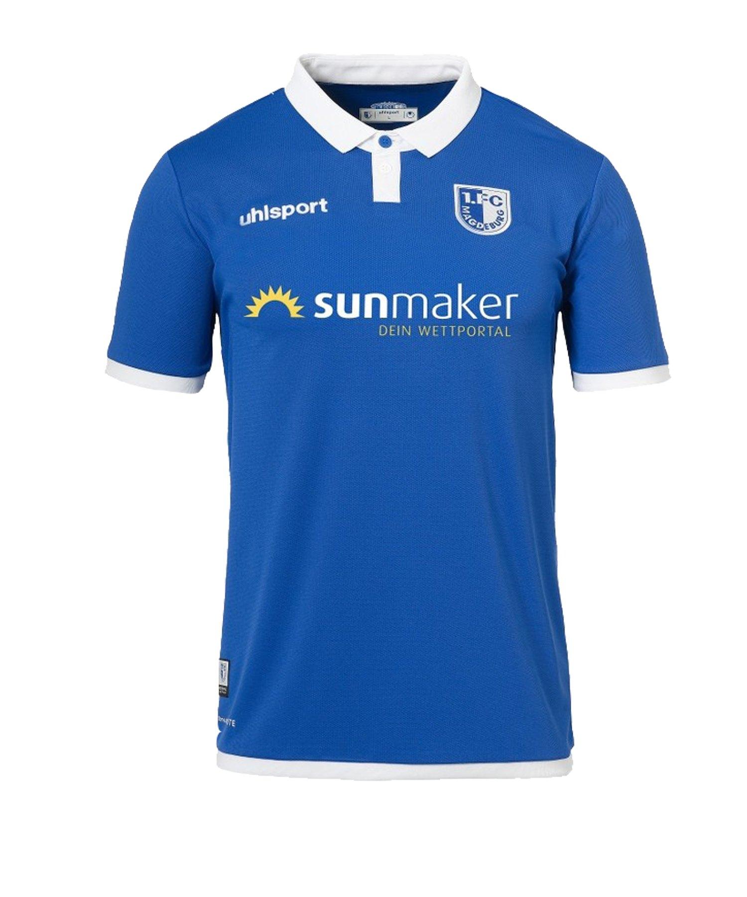 Uhlsport 1. FC Magdeburg Trikot Home Kids 19/20 - blau