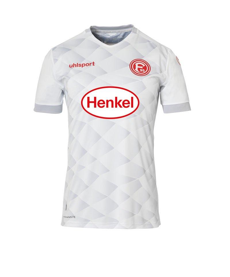 Uhlsport Fortuna Düsseldorf Trikot Away 18/19 Weiss - weiss