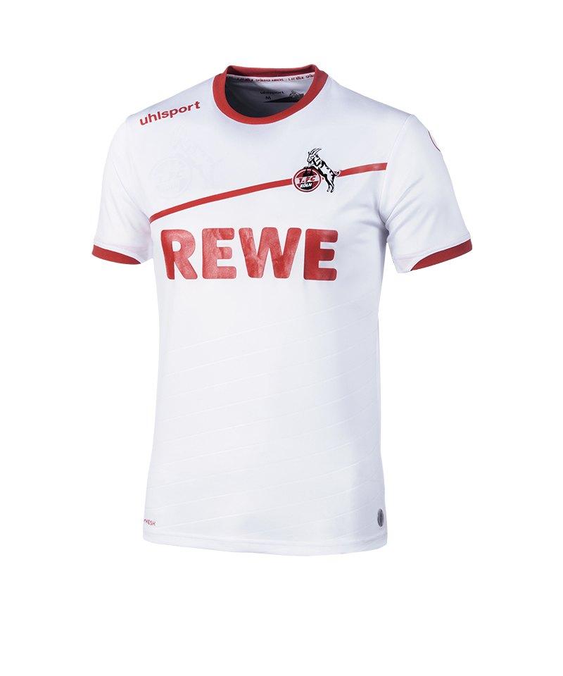 Uhlsport 1. FC Köln Trikot Home 2018/2019 Weiss - weiss