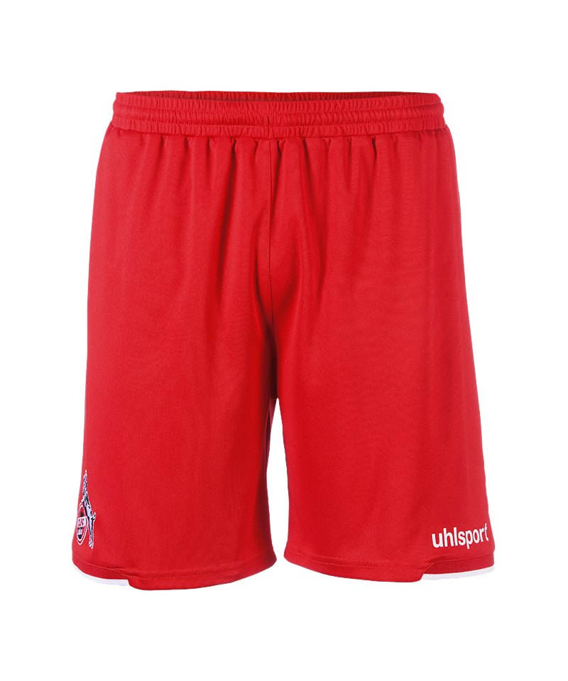 Uhlsport 1. FC Köln Short Away 2018/2019 Kids Rot - rot