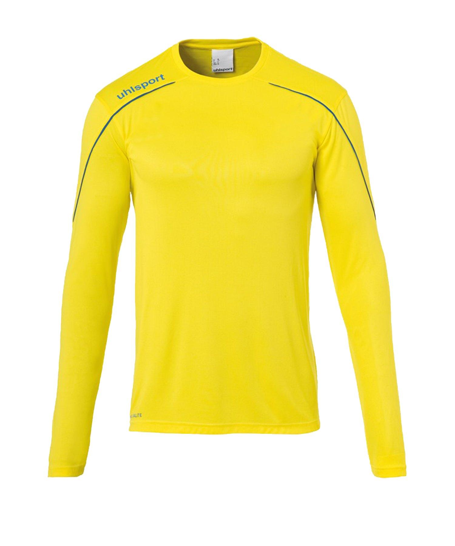 Uhlsport Stream 22 Trikot langarm Gelb Blau F11 - Gelb
