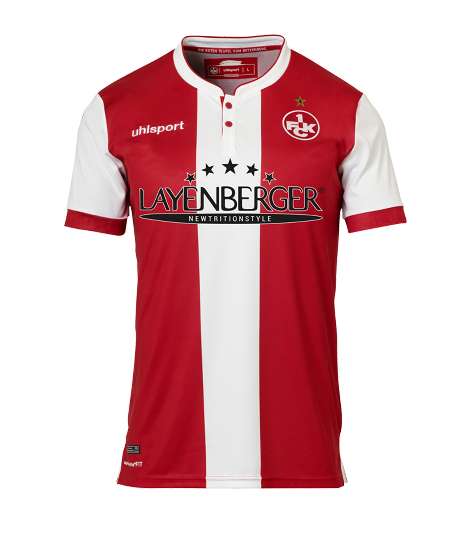 Uhlsport 1. FC Kaiserslautern Trikot H Kids 18/19 - rot