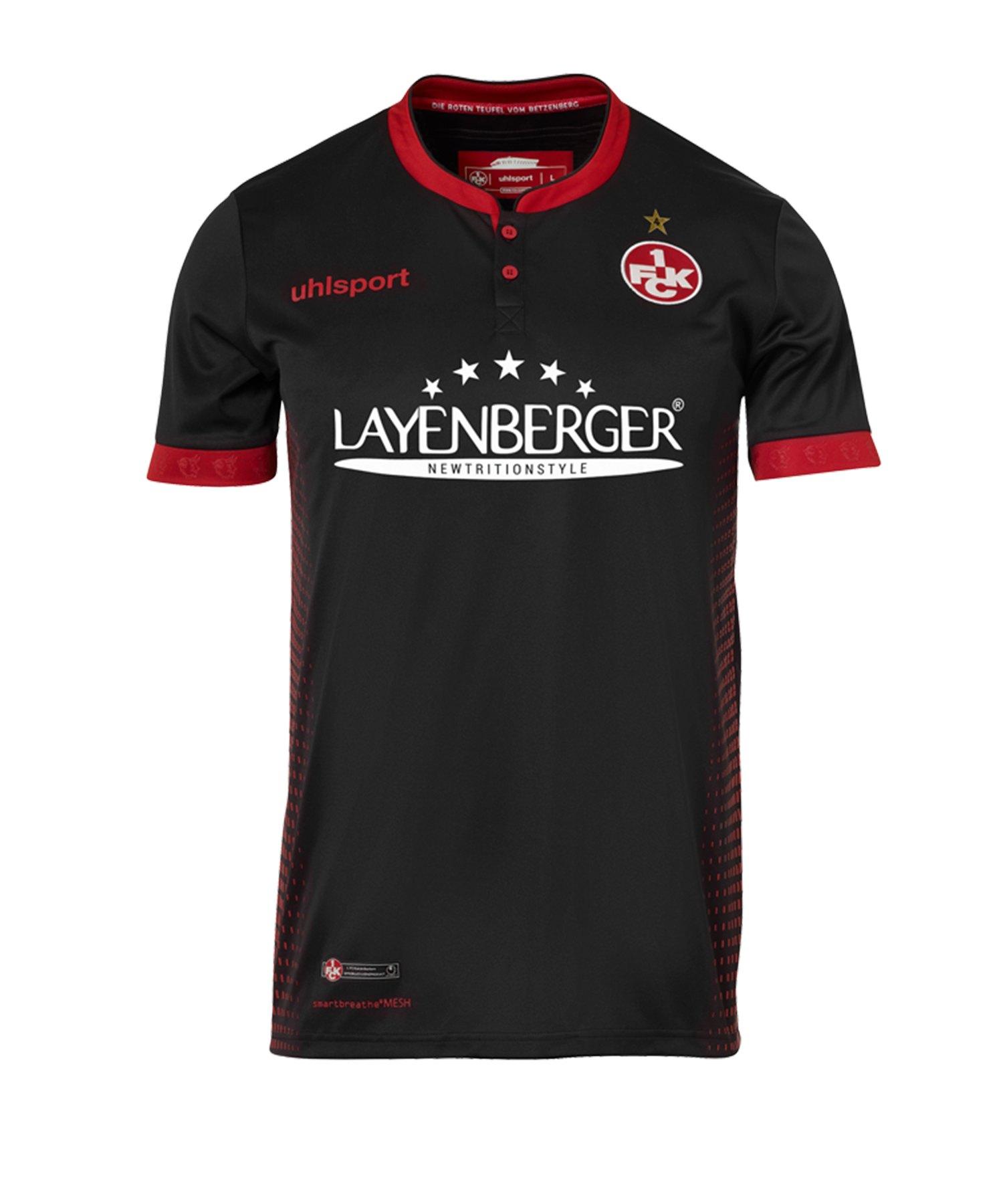 Uhlsport 1. FC Kaiserslautern Trikot Away 2018/19 - schwarz