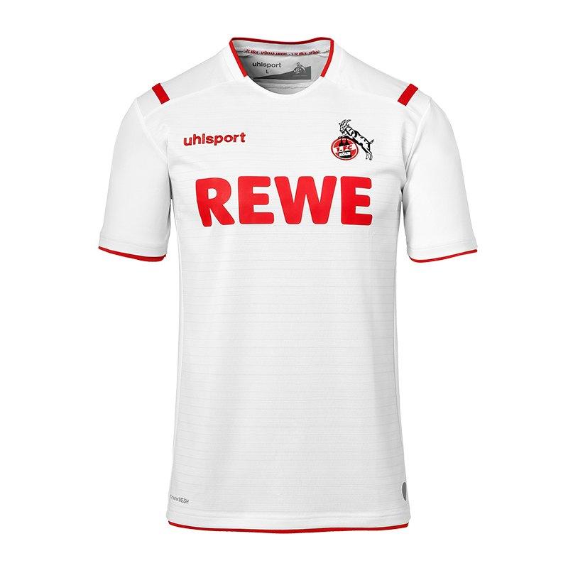 Uhlsport 1. FC Köln Trikot Home 19/20 Kids Weiss - weiss
