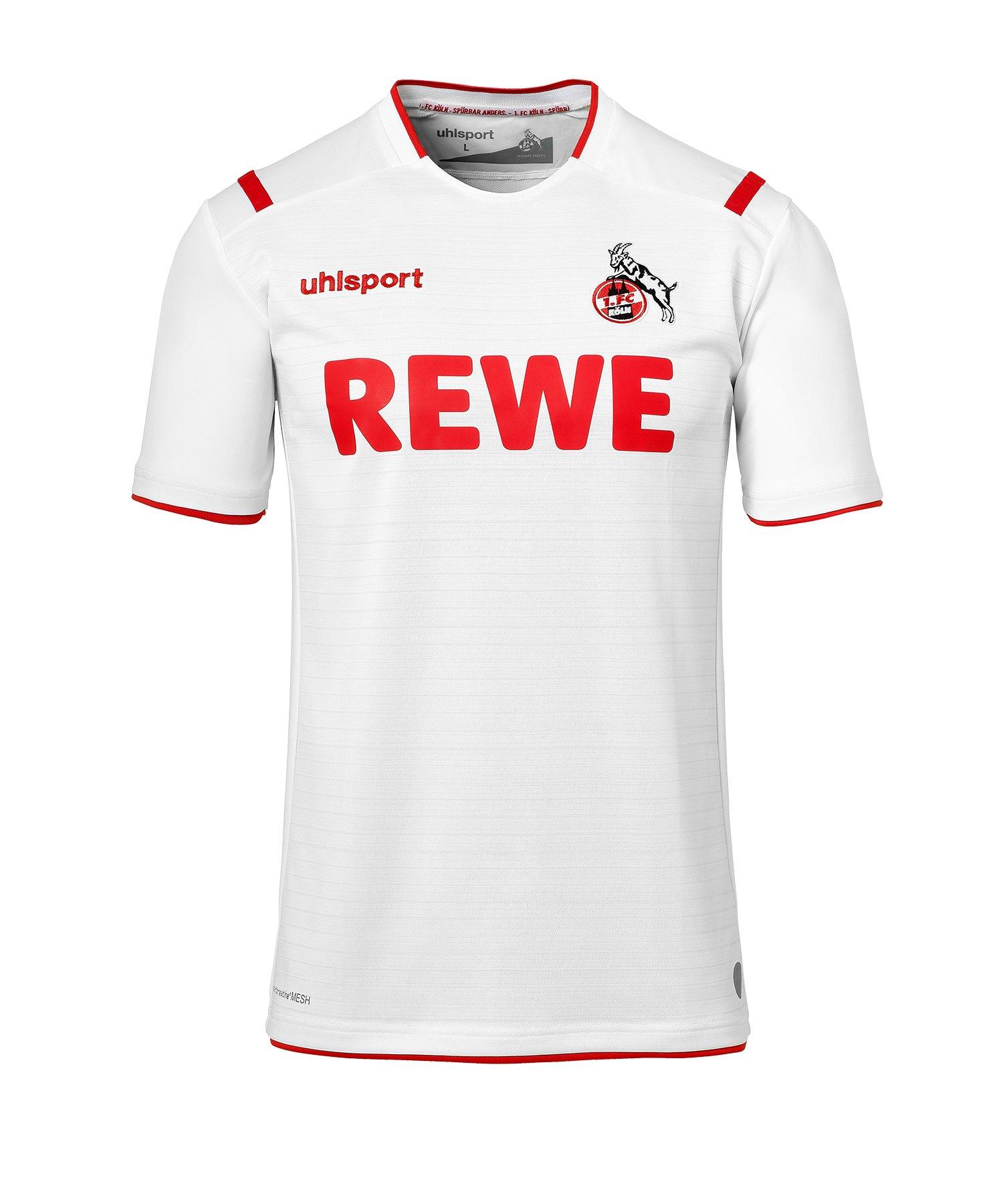 Uhlsport 1. FC Köln Trikot Home 2019/2020 Weiss - weiss
