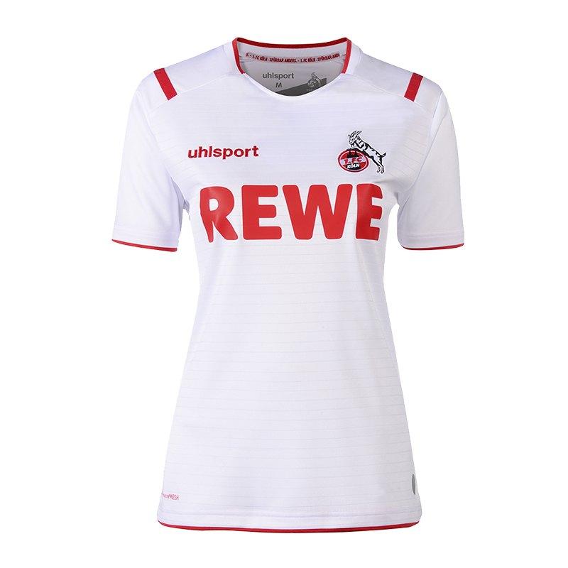 Uhlsport 1. FC Köln Trikot Home 19/20 Damen Weiss - weiss